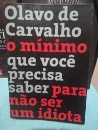 Livro - O mínimo que você precisa saber para não ser um idiota - Olavo de Carvalho