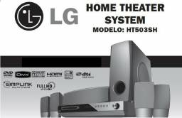 Home Theater 5.1 - LG HT503SH