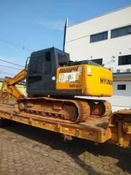 Aluguel de escavadeira hidráulica 250 a hora