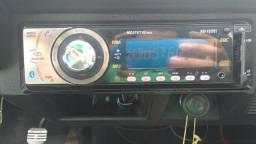 Rádio Bluetooth USB cd FM AM Aux