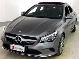 Mercedes CLA-200 Vision 1.6 TB 16V Flex Aut. - Cinza - 2017 - 2017
