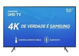 Smart TV Led 50 4K Samsung 3 Hdmi 2 Usb Wifi Bluetooth NF Lacrada Garantia