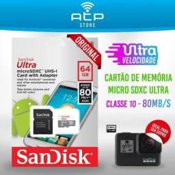 Cartão de Memória Ultra classe 10 Original 16gb 32gb 64gb