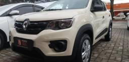 .*. Renault Kwid 2020 - Completo / ar condicionado e direção elétrica / - 2019