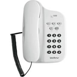 Telefone Intelbras C/ Fio TC-500