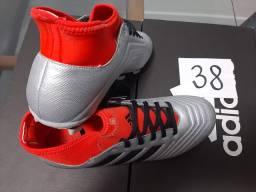 Chuteira campo 38 Adidas