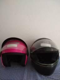 Troco 2 capacetes por 1 mandem propostas