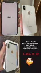 iPhone x 64GB  todo original