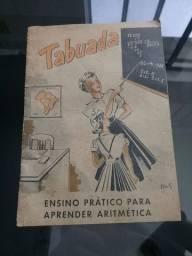 Livrinho Antigo Tabuada