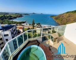 Exclusiva Cobertura Duplex com vista espetacular para o Mar na Praia do Morro