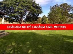 VENDO CHÁCARA 5.000m NO JARDIM IPÊ, LUZIÂNIA, EXCELENTE CHÁCARA.