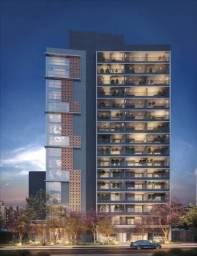 Atraente Apartamento no Paraíso, com 1 quarto, sendo 1 suíte, 1 vaga e área de 44 m²