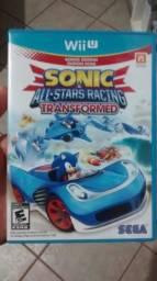 Sonic All Star Racing Nintendo Wii U