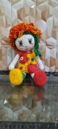 Boneca Emilia de crochê
