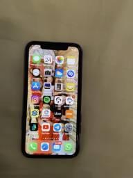 Iphone x 256g com 2 capas