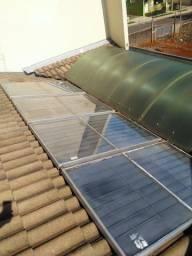 Placa solar.aquecedor solar