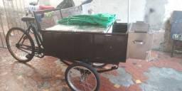 Tricicolo adaptado para churrasquinho
