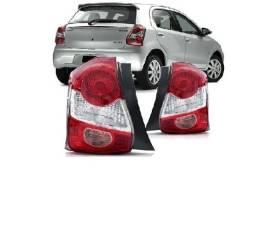 Lanterna Traseira Toyota Etios Hatch 13 14 15 16 17 18 Bicolor