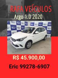 Argo 1.0 2020 R$ 45.900,00 - Eric Rafa Veículos- rve20