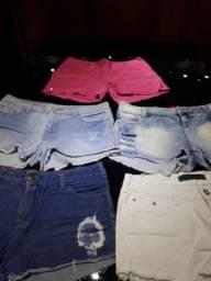 Vendo Shorts em bom estado de uso,cores diversas.