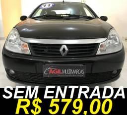 Renault Symbol 1.6 Privilege Único dono 2011 Preta