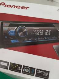 Rádio Pioneer , CD Player, USB, , Novo, instalado.