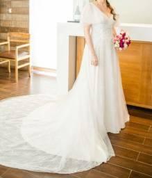Vestido de noiva Boho Chic Casa Amarela