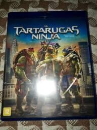 Blu Ray filme Tartarugas Ninja. Raro. Sem uso.