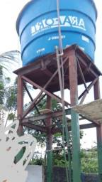 Caixa de 10mil litros com base 4mil