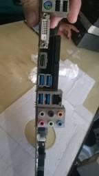 Placa mae gigabyte z370 hd3. so a placa