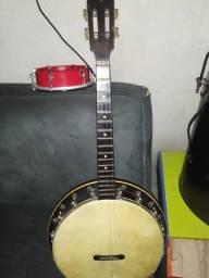 Banjo caipira estilo americano