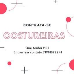 PROCURAMOS COSTUREIRAS
