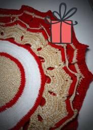 Supla de Crochê natal luxo
