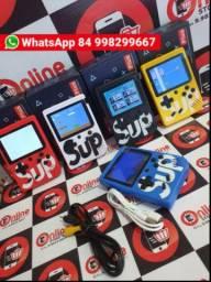 Mini Game Sup Game Box Plus Video Game Portatil 400 Jogos com cabo pra tv<br>