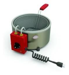 Fritadeira industrial elétrica Progás PR-310 E prata 110V