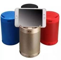 Caixa De Som Bluetooth Receptor Caixinha Wireless Mp3 Usb Q3<br>