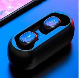 Fone Bluetooth Qcy Qs1 V5.0 Sem Fio Duplo C/ Microfone Original