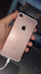 IPhone 7 128gb Rose Saúde Bateria 100%