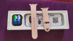 Super Lançamento FK78 Rosa Smartwatch