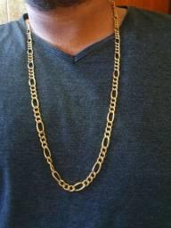 Corrente de ouro 3x1 25 gramas