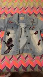 Jaqueta jeans 14anos