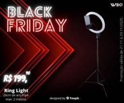 "Ring Light 10"" Polegadas- Promoção Black friday-(Lojas Wiki)"