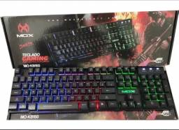 (NOVO)Teclado Gaming Com Led Multicolorido Mo-kb150