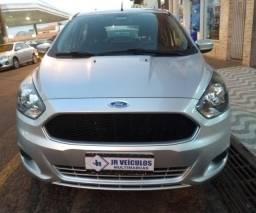 Ford/Ká Hatch SE 2015 Prata Completo Lindo (JR VEÍCULOS)