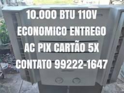Título do anúncio: (Entrego Gratis Ac Cartão 5x Pix) Ar Condicionado 10.000 Btu 110V Economico