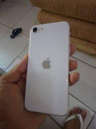 iPhone SE 2020 64 Gigas Branco Impecável