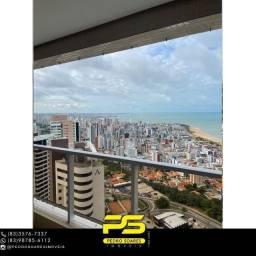 Apartamento com 3 dormitórios para alugar, 194 m² por R$ 7.200/mês - Altiplano Cabo Branco
