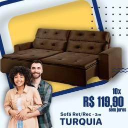 sofa turqui --200mm de largura