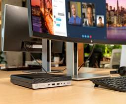 Computador Intel i5 9a Geração 8gb DDR4 + SSD 256 Nvme - HP Elite Desk 800 G5