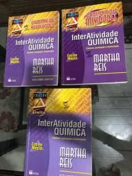 Livros InterAtividade QUÍMICA Martha Reis